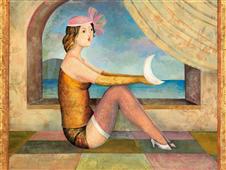 Cuadro canvas museo cogli la luna