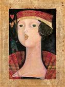 Cuadro canvas museo rossa passione