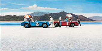 Cuadro canvas figurativo bonneville salt plains