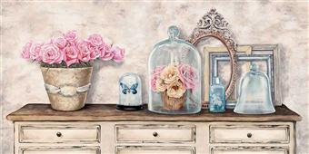 Cuadro canvas composition en blanc - Cuadros serigrafiados - Objetos de Decoración