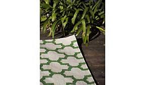Alfombra Fez verde - Alfombras de Lana - Objetos de Decoración
