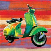 Cuadro canvas vespa pop scooter I