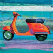Cuadro canvas vespa pop scooter II