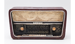 Hucha Radio Antique - Figuras decorativas - Objetos de Decoración