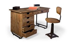 Mesa de escritorio vintage Valecay - Mesas de Escritorio Vintage - Muebles Vintage