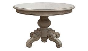 Mesa de comedor redonda vintage Lepon