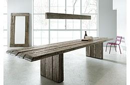 Mesa de comedor Oregón madera centenaria