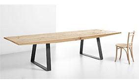 Mesa de comedor madera centenaria Fly