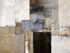 Cuadro canvas abstracto mood
