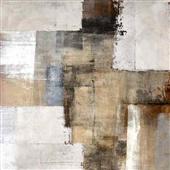 Cuadro canvas abstracto shelter