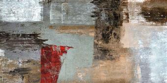 Cuadro canvas abstracto elemental