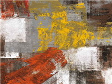 Cuadro canvas abstracto summer breeze