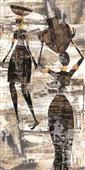 Cuadro canvas figurativo africa uno