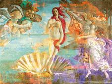 Cuadro canvas muse botticelli venus dos punto cero