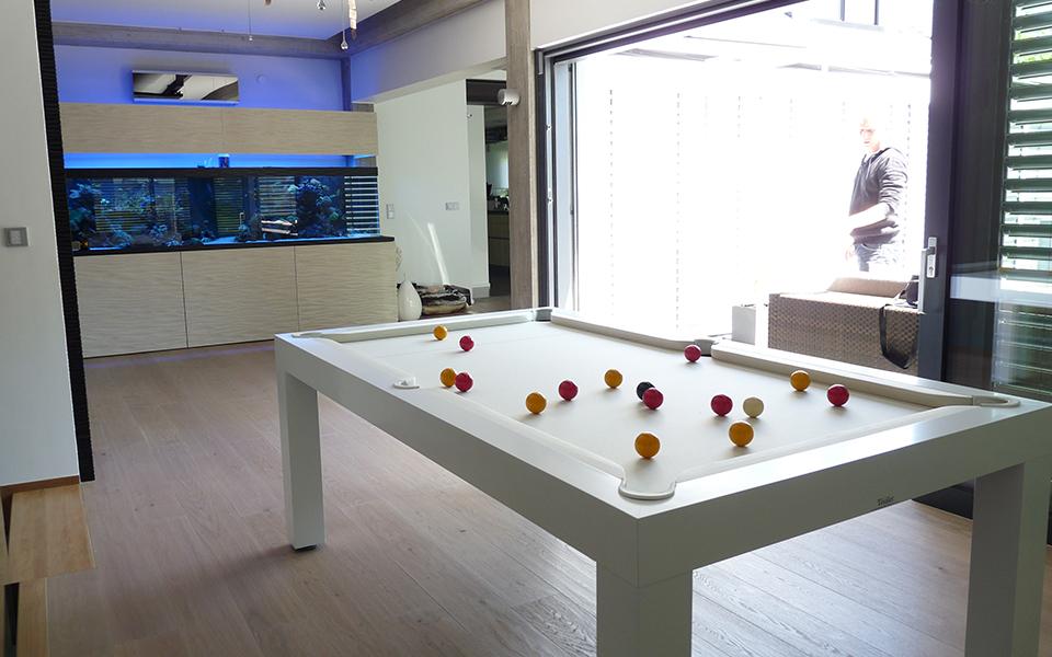 Billar mesa de comedor Pearl en Portobellostreet.es