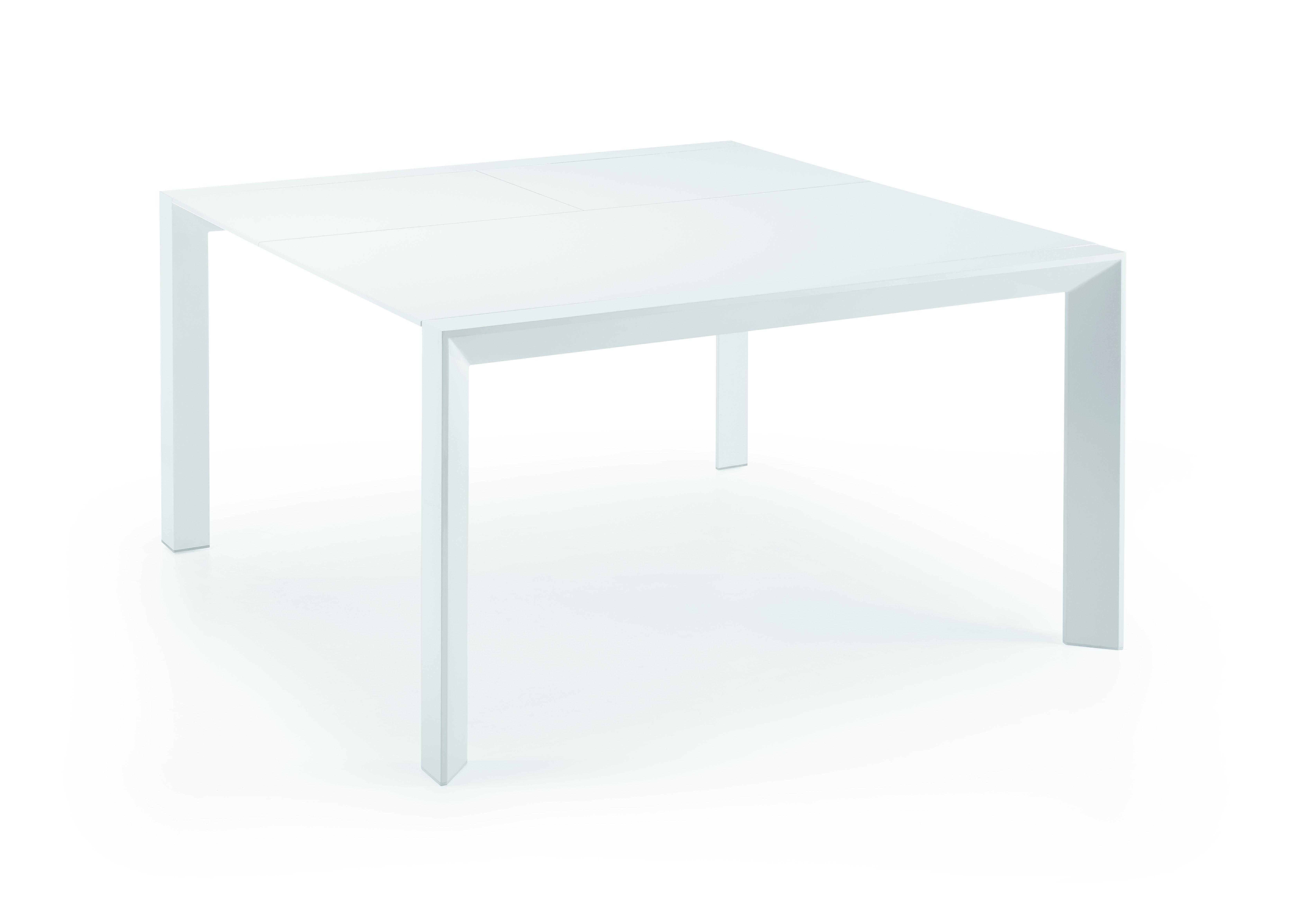 Mesa de comedor blanca moderna nagar en cosas de - Mesas de arquitecto ...
