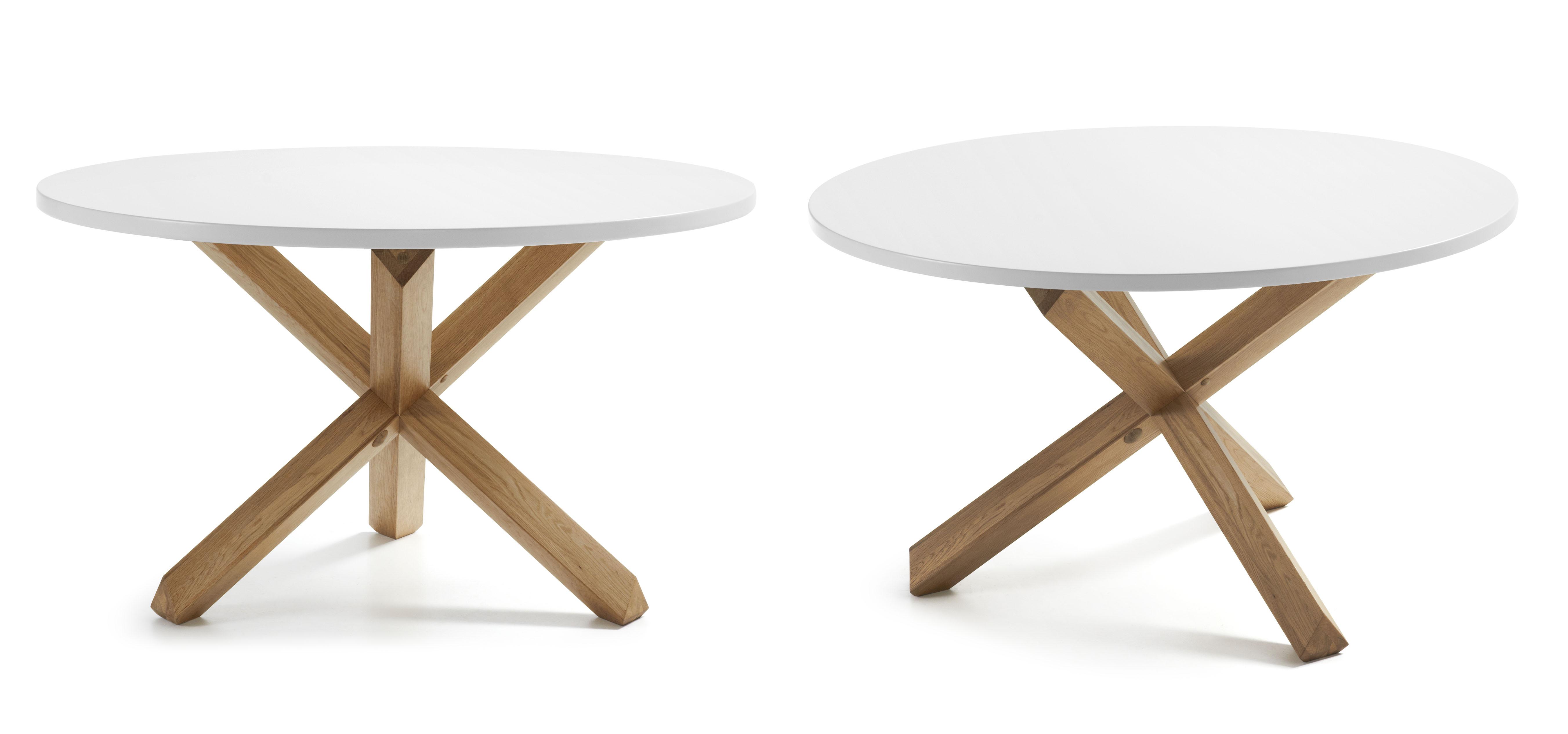 mesas redondas modernas