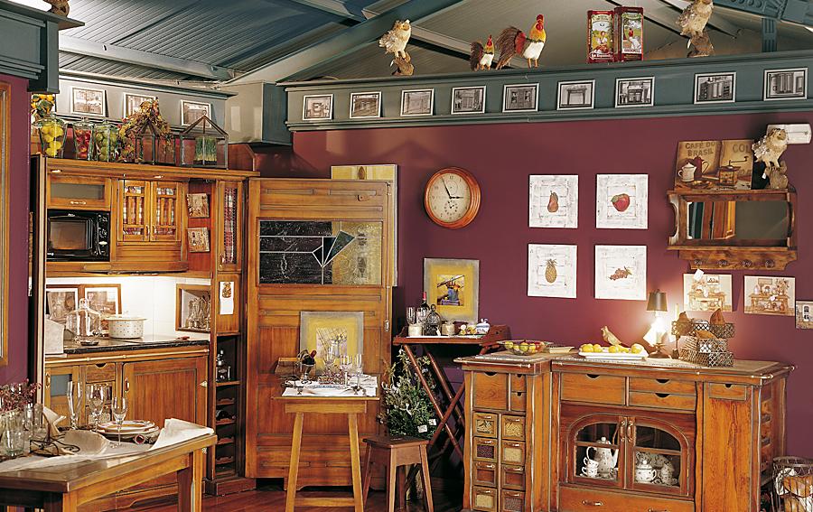 Cocina rustica hamptons en cosas de arquitectoscosas de - Muebles cocina vintage ...