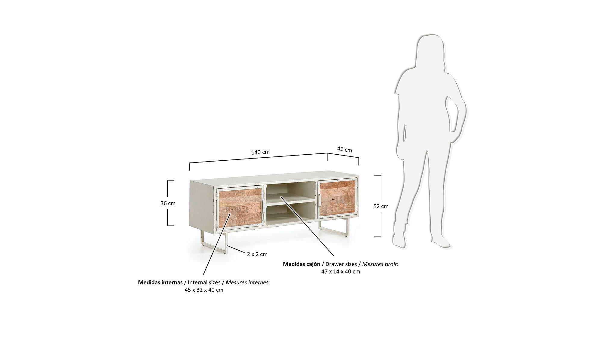 Mueble tv industrial loops en cosas de arquitectoscosas de for Mueble television industrial