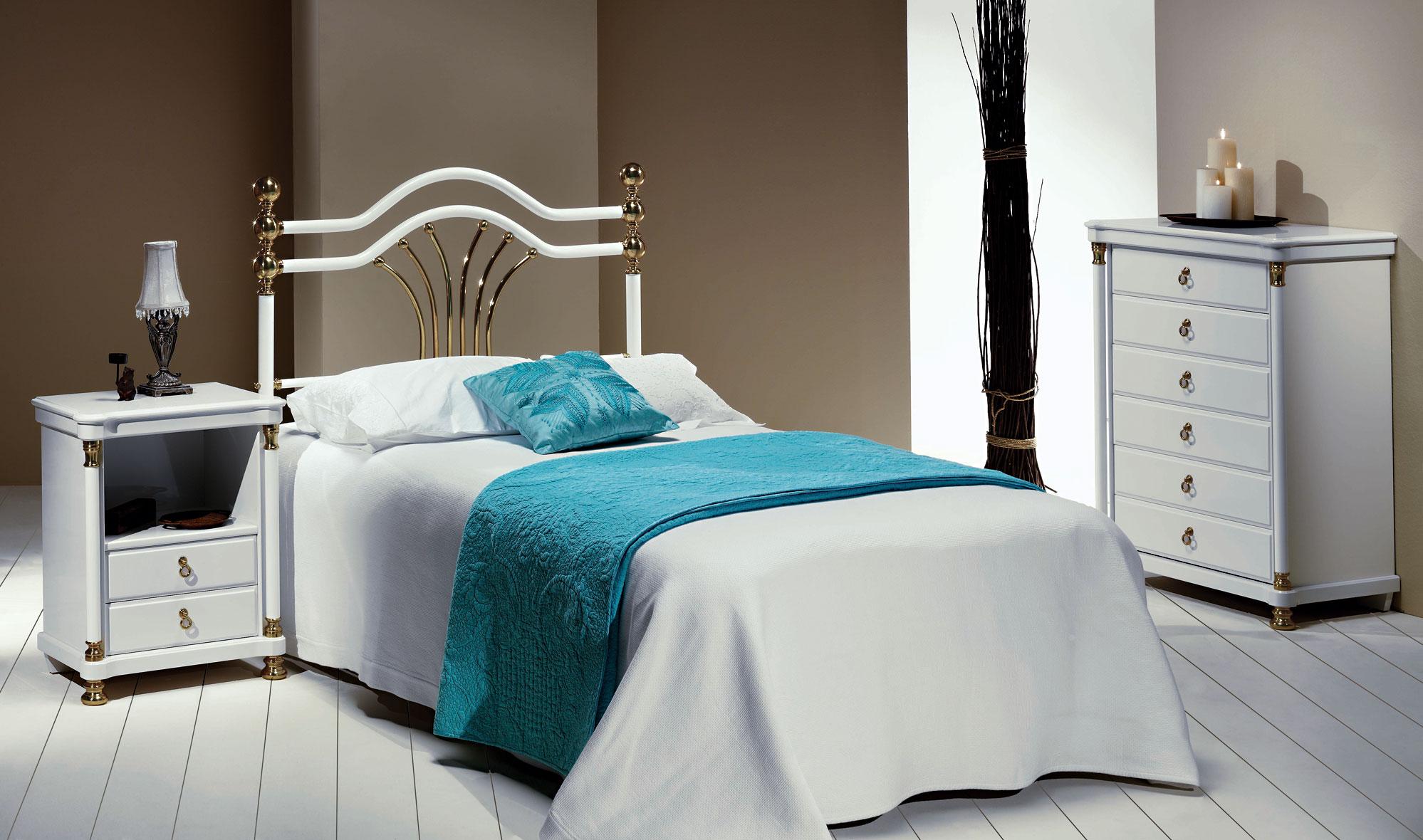 Dormitorio forja bianca en - Muebles en forja ...