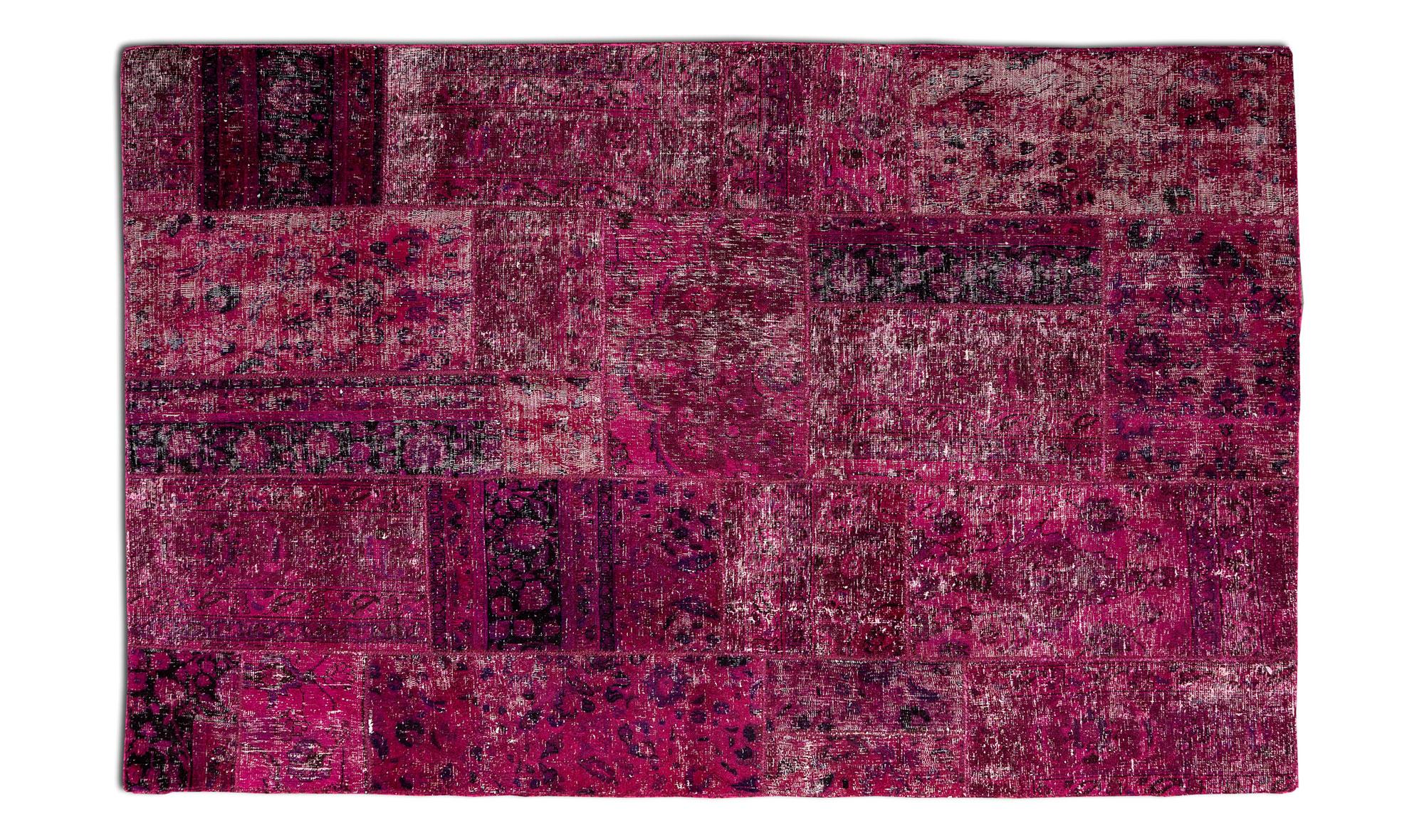 Alfombra patchwork rosa grace en dec shop for Alfombras patchwork persas