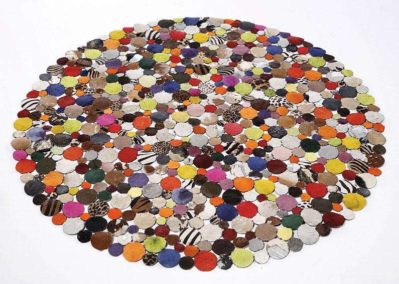 Alfombra de Colores Circulos no disponible en