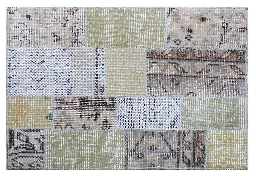 Alfombra de patchwork kilim beige no disponible en for Alfombras patchwork persas