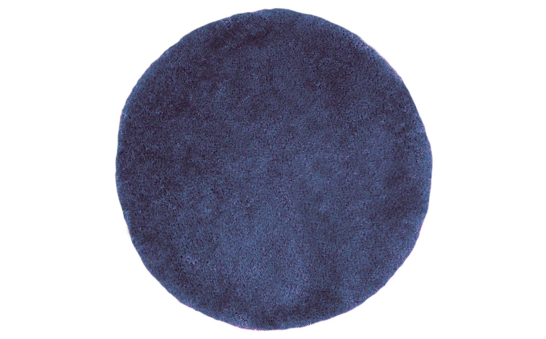 Alfombra redonda shaggy azul nivea 140 no disponible en for Alfombra redonda gris