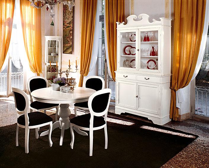 Comedor vintage aurora tonin casa en for Comedor vintage blanco