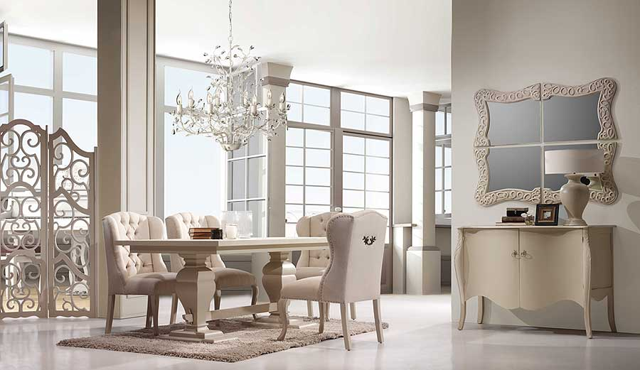 Comedor la rochelle vi no disponible en for Muebles provenzales online