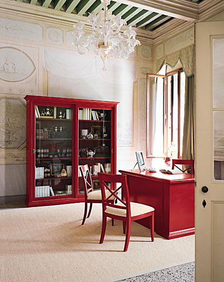 Despacho vintage ancel en for Muebles para despacho