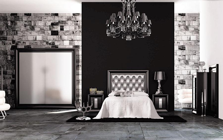 Dormitorio moderno melan no disponible en - Dormitorios modernos en blanco y plata ...