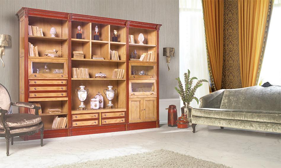 Librer a cl sica kant en cosas de arquitectoscosas de for Muebles librerias para salon