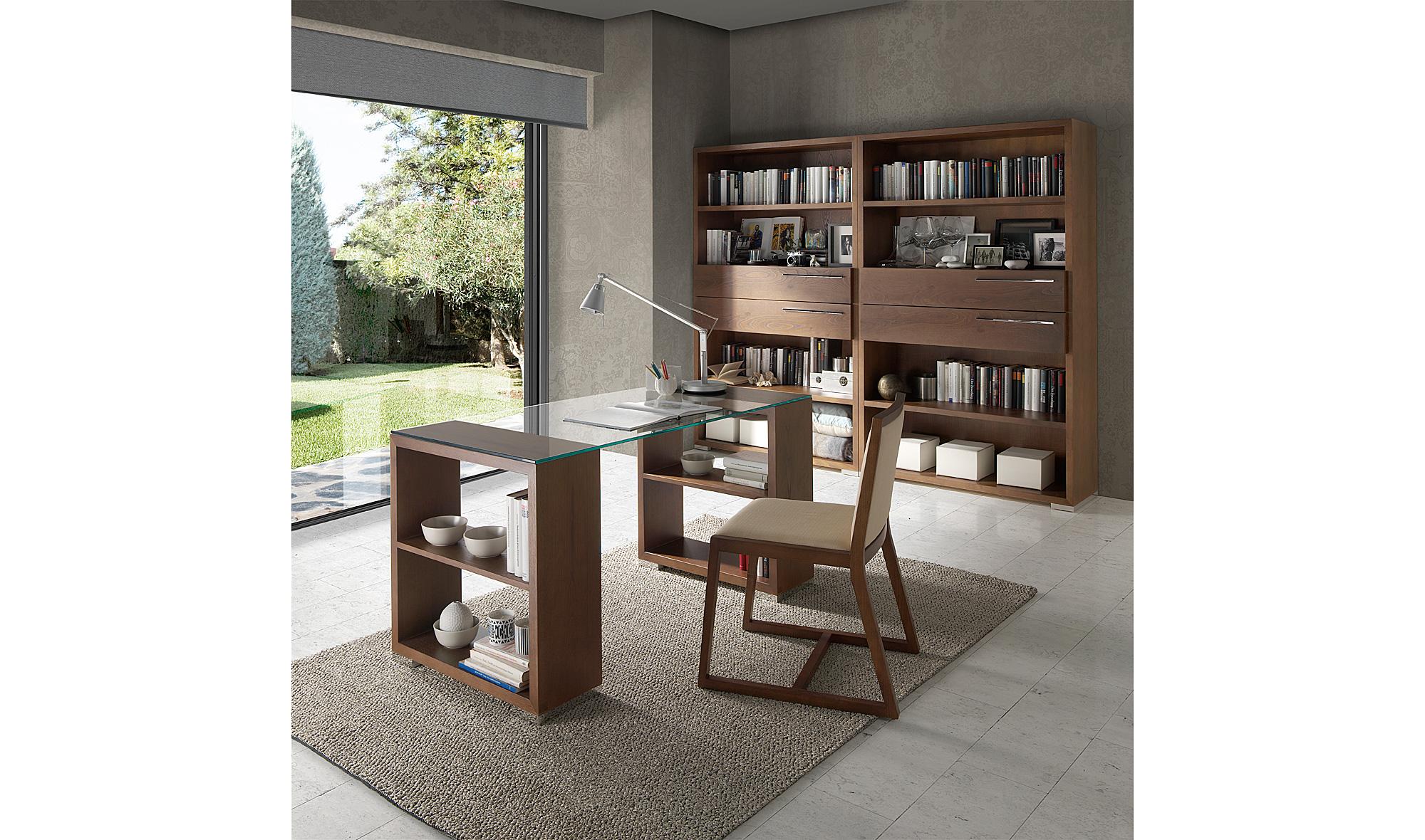 Mesa escritorio cristal grendy en - Mesas de escritorio de diseno ...