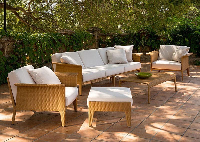 Sofa de jard n aventino en for Decoracion muebles jardin