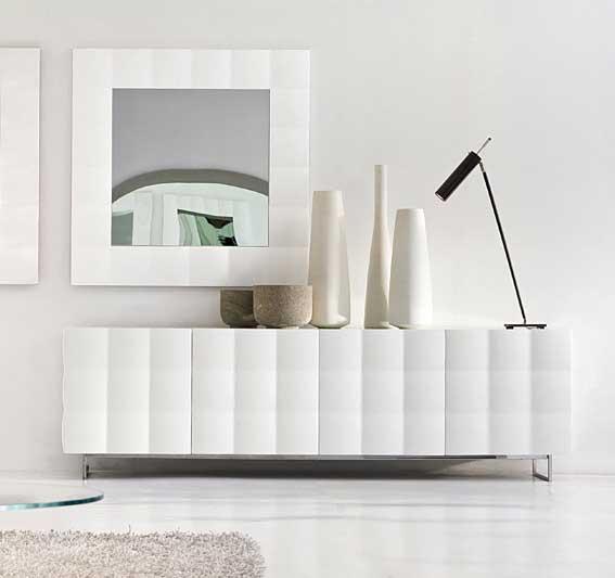 Aparador moderno 4 puertas venice tonin casa en cosas de - Aparadores de diseno moderno ...