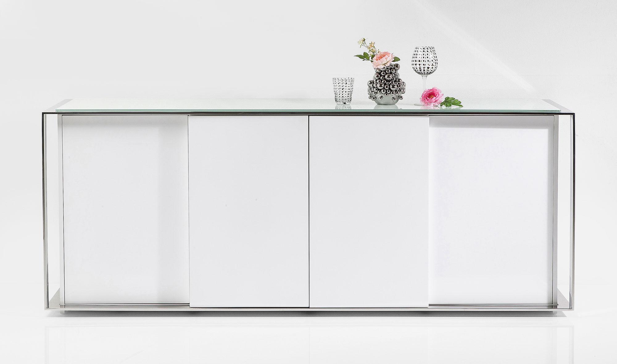 Aparador 4 puertas blanco moderno Vanity en COSAS de ...