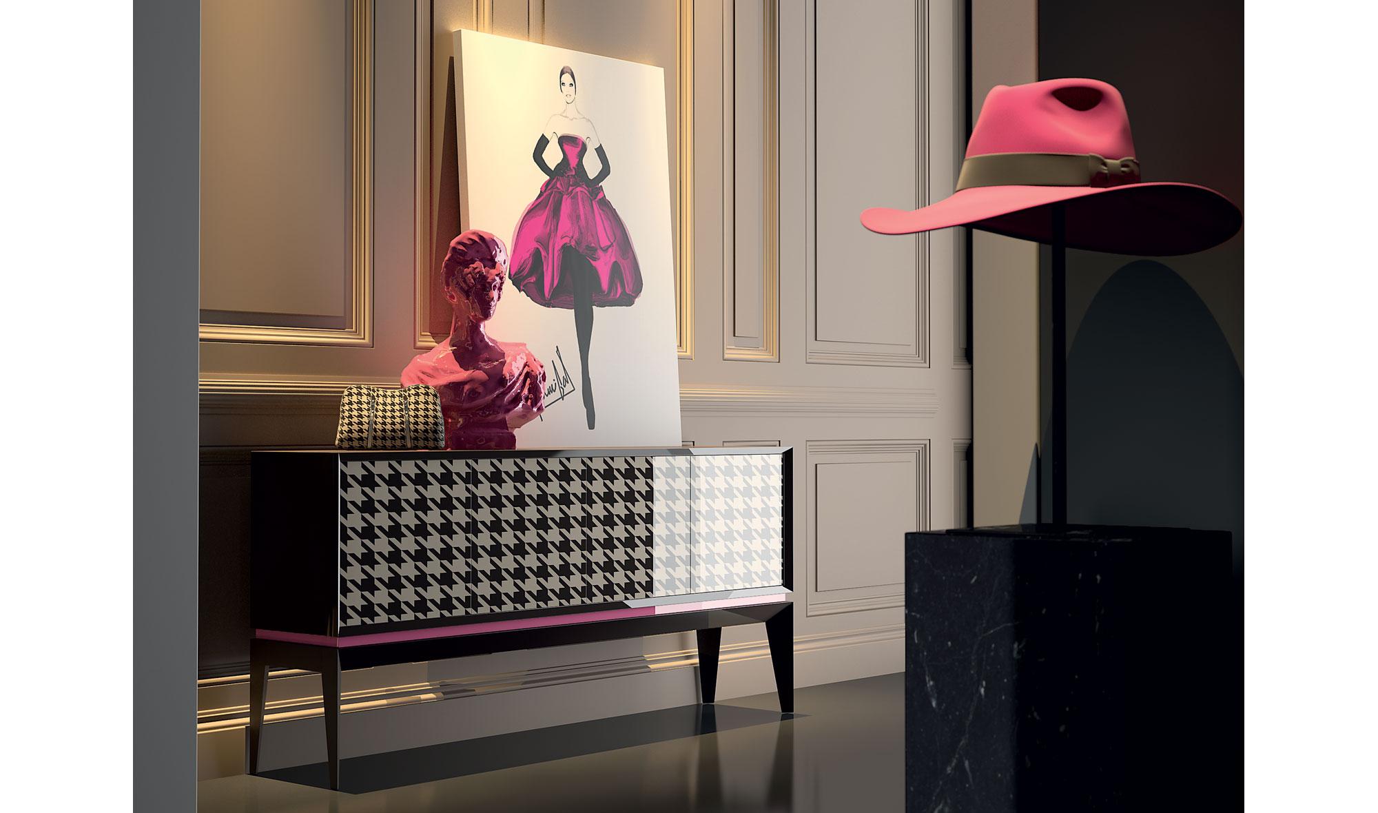 Muebles De Coci : Aparador puertas triangle cocó de lujo en