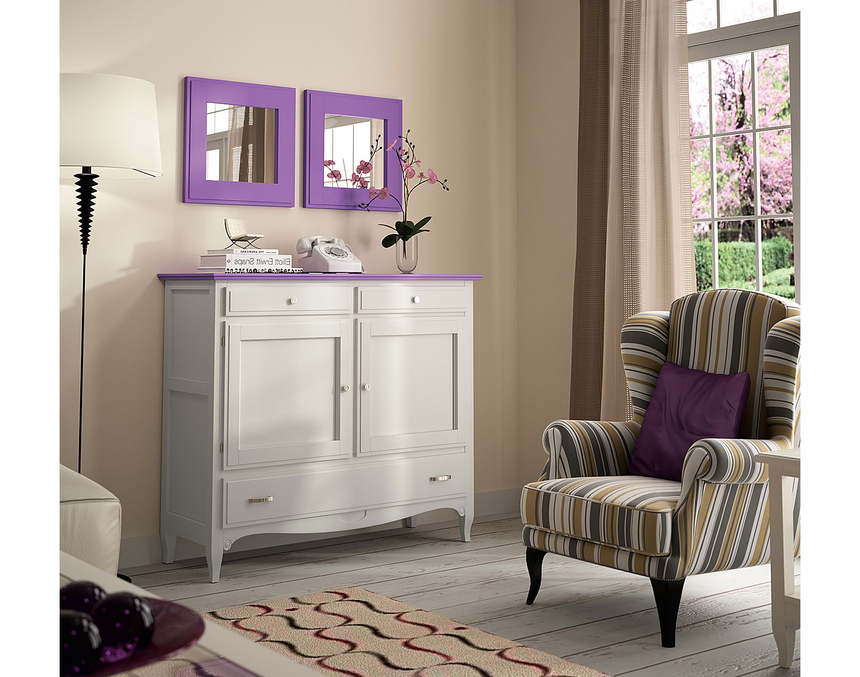 Aparador vintage provenzal lila fontana en - Sofas arabes baratos ...