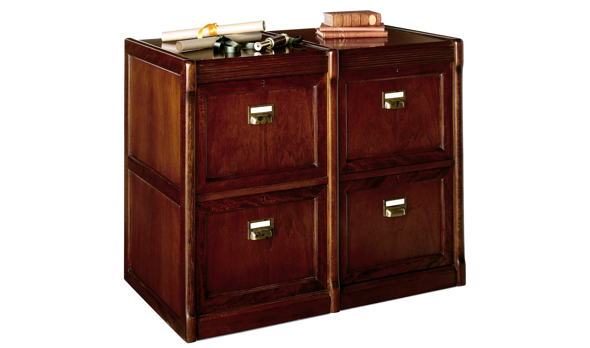 Archivador ancho 4 cajones cl sico batian de lujo en for Tu muebles catalogo