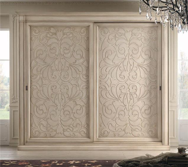 Armario 2 puertas corredoras vintage bisanzio en cosas de for Puertas para armarios