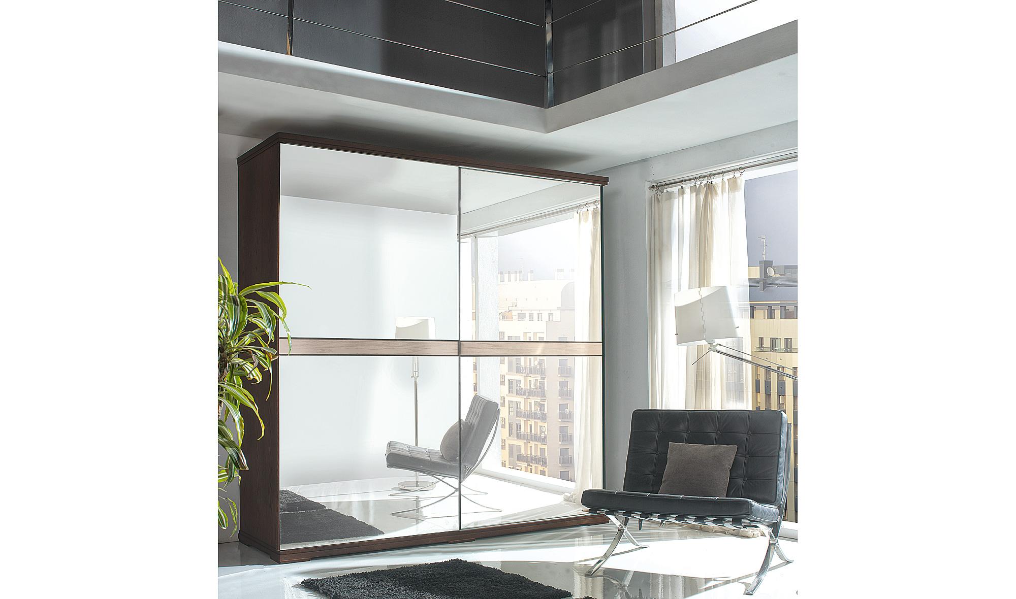 armario 2 puertas espejo moderno volga en