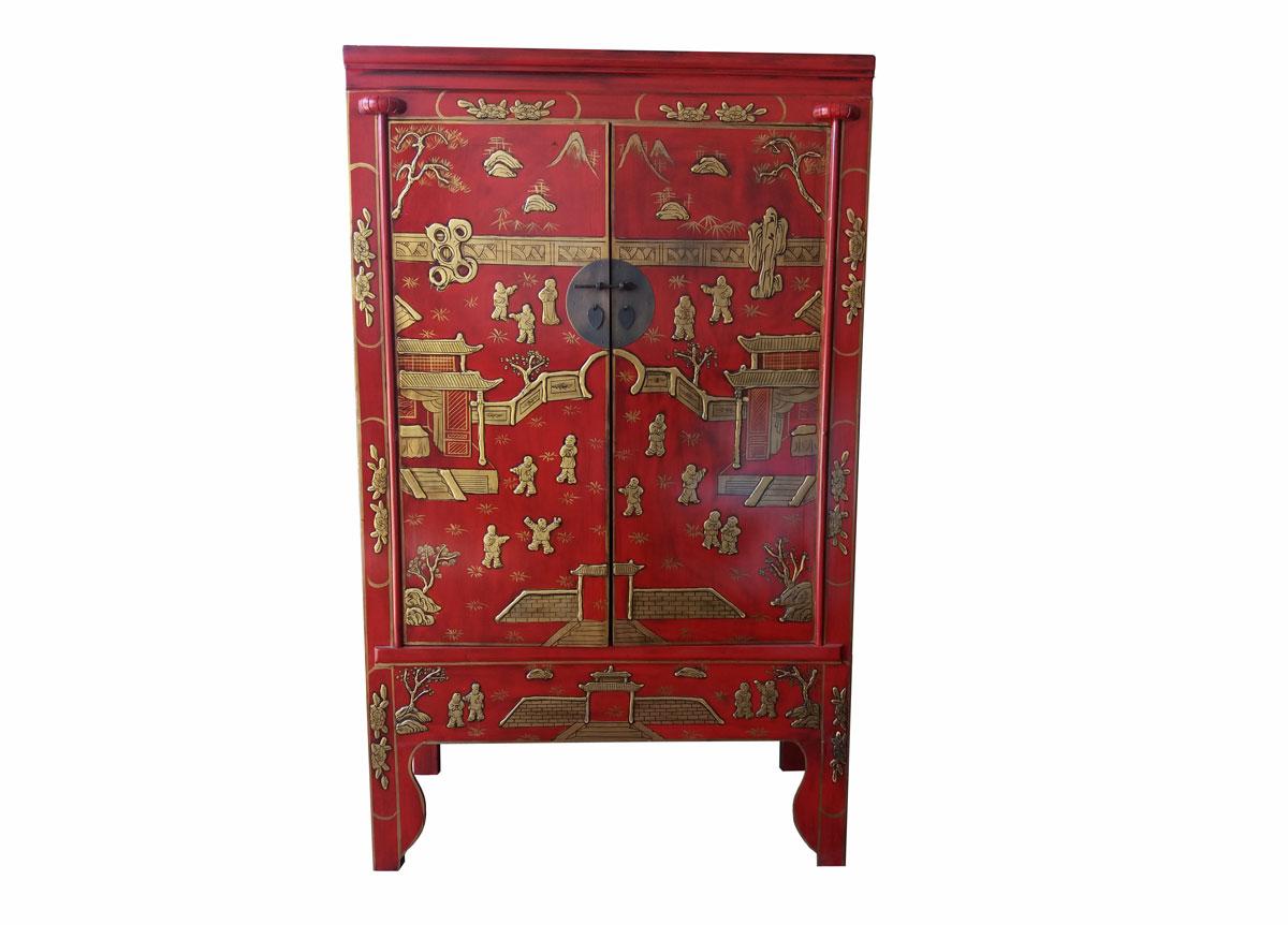 Armario chino de boda rojo iii no disponible en - Armario de boda chino ...