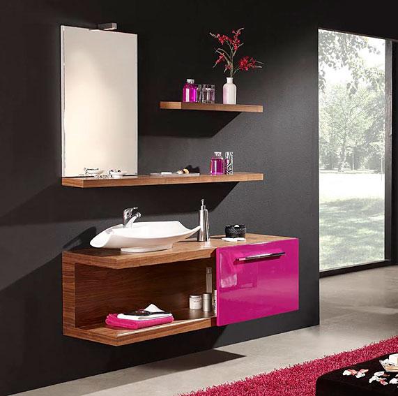 muebles auxiliares para banos modernos