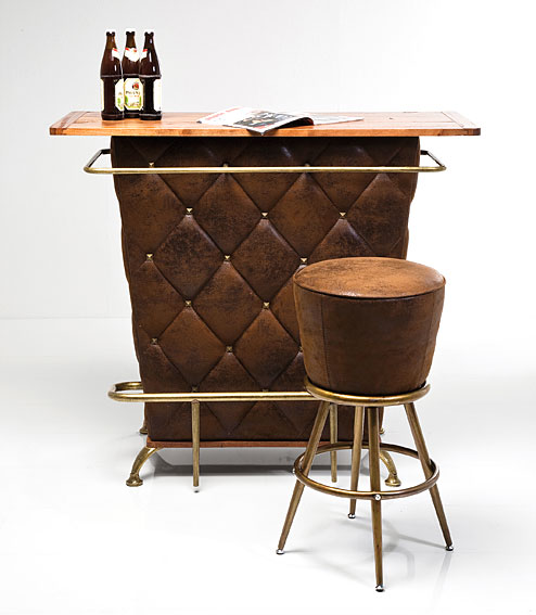 Barra de bar rockstar marron no disponible en - Mueble barra bar ...