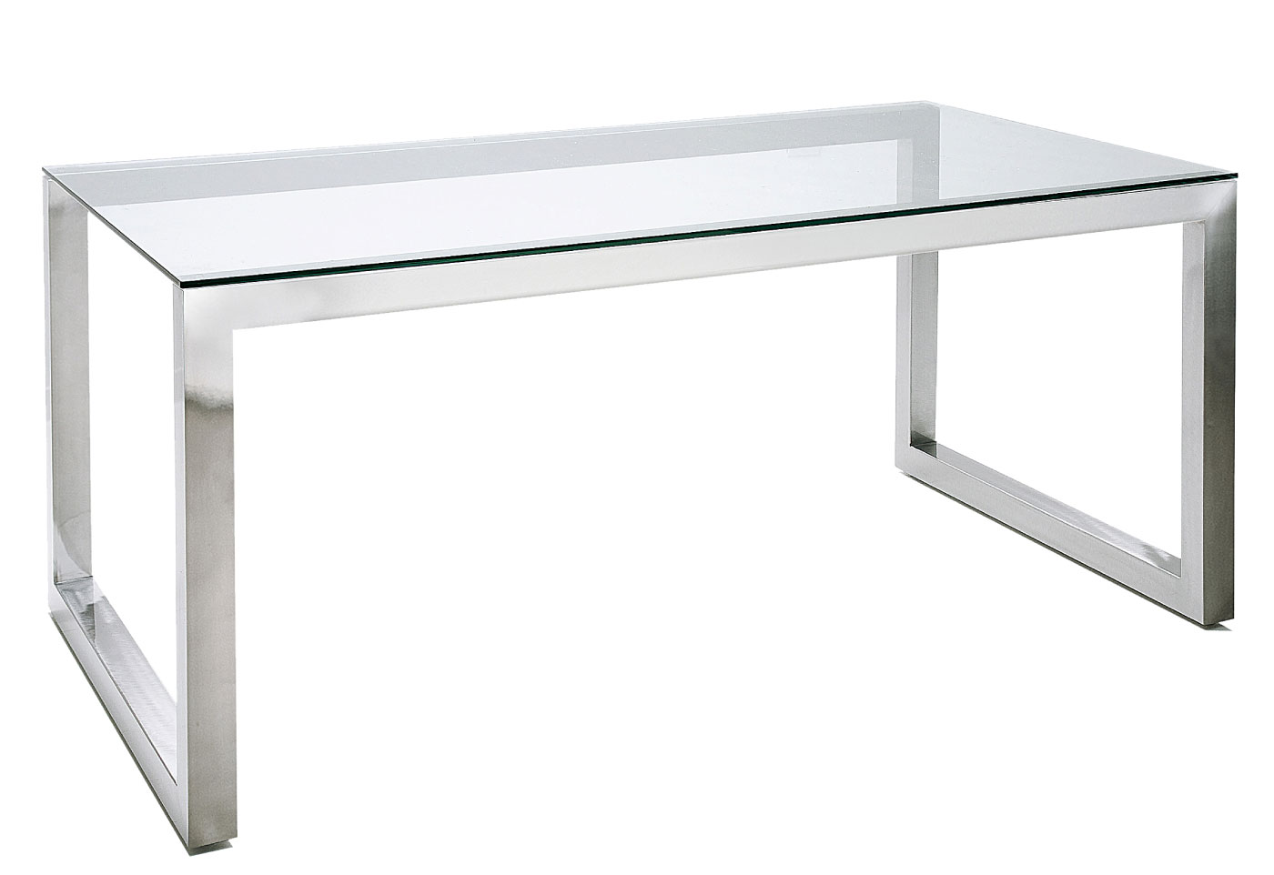 Base de mesa de acero inox no disponible en - Mesas de despacho de cristal ...