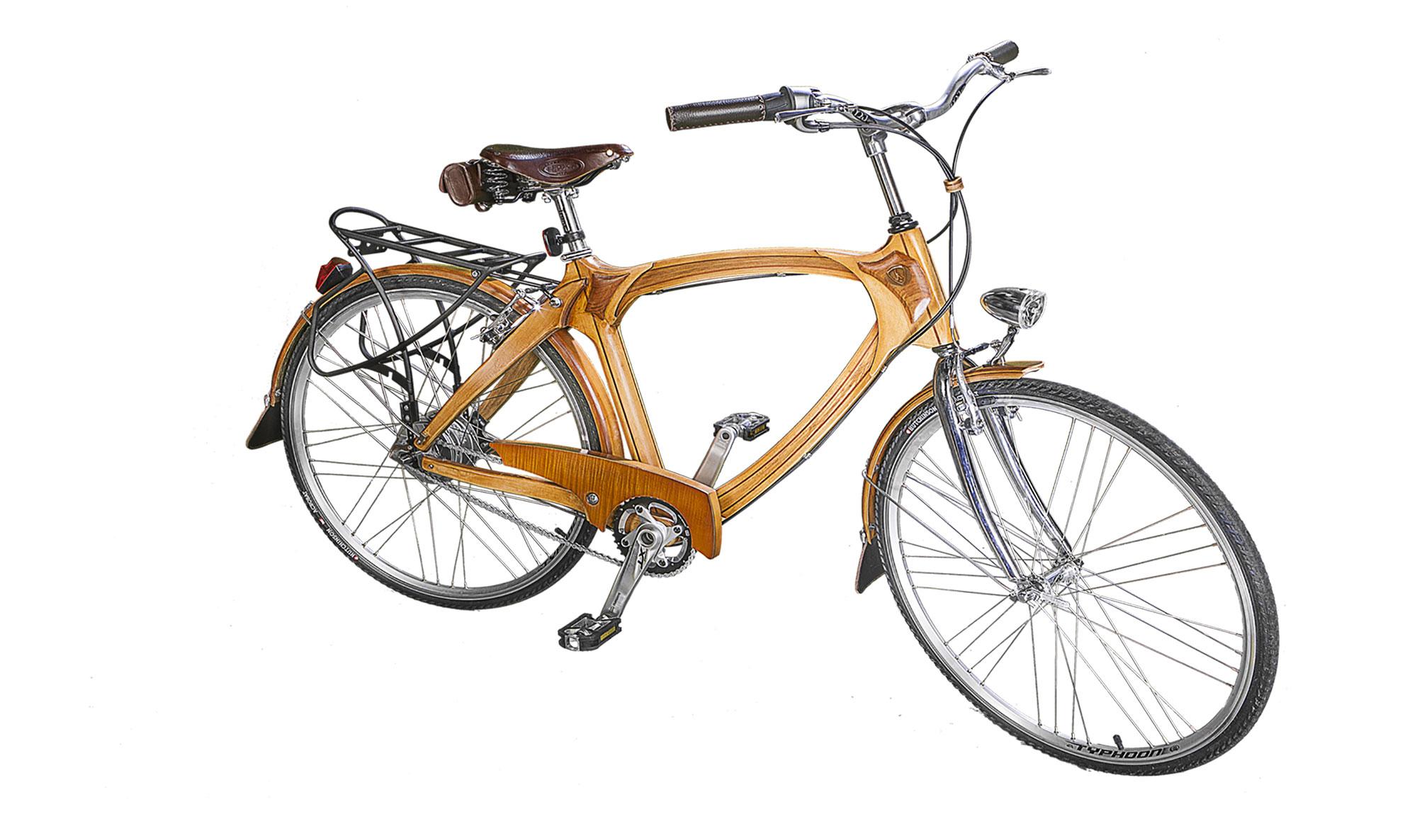 Bicicleta De Madera Vintage Eindhoven En Portobellostreet Es # Muebles Bicicleta