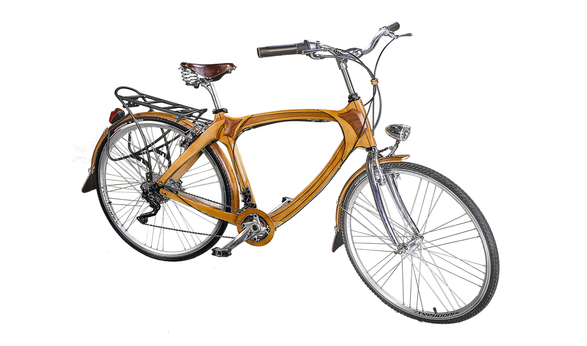 Bicicleta De Madera Vintage Groningen De Lujo En Portobellodeluxe  # Muebles Bicicleta