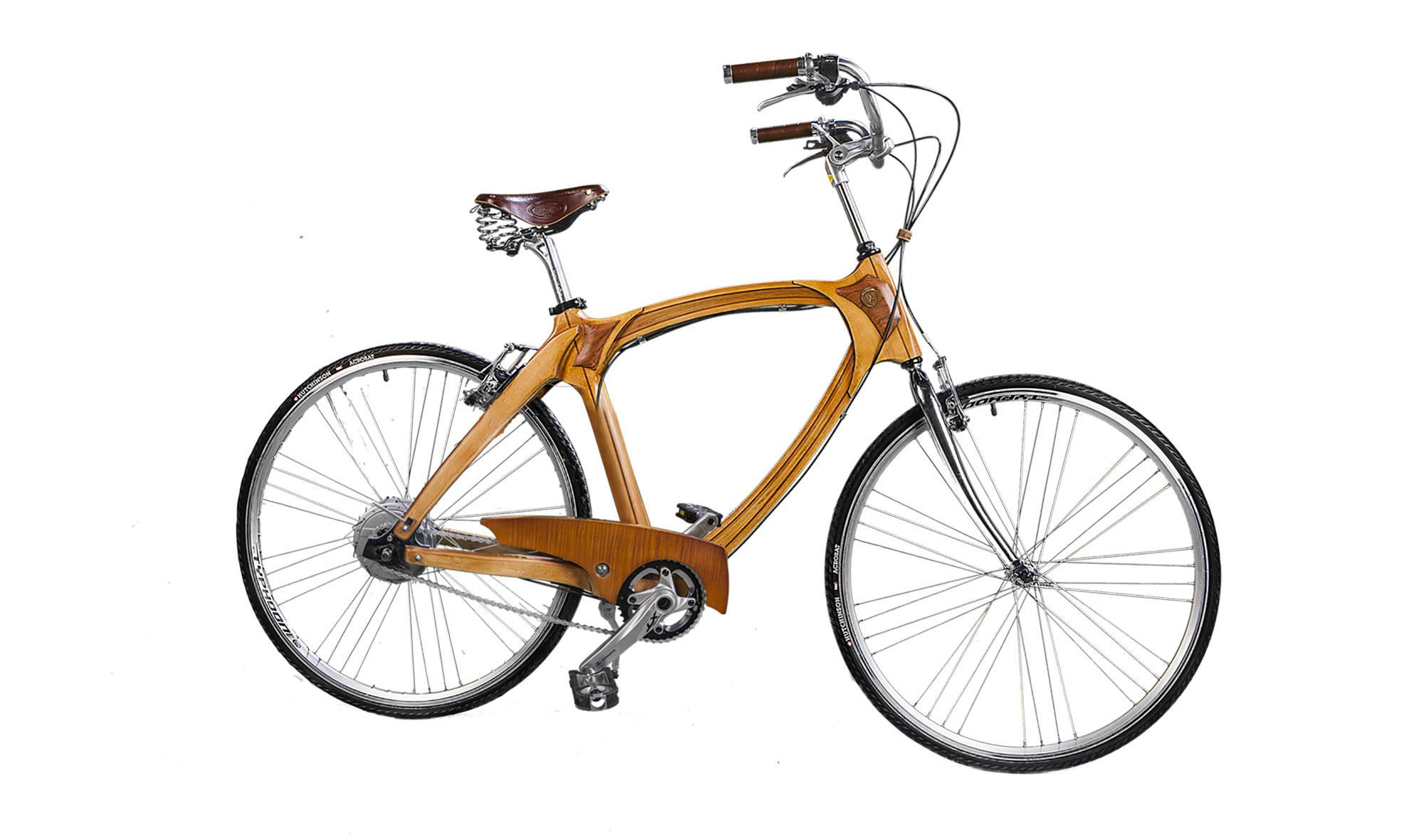 Bicicleta De Madera Vintage Rotterdam De Lujo En Portobellodeluxe  # Muebles Rotterdam