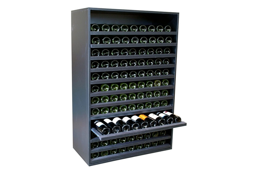 Botellero merlot super 108 botellas vino en - Botelleros de vino ...